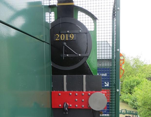 Handforth Station steams ahead