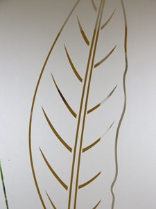 'Bird of Paradise' glass commission