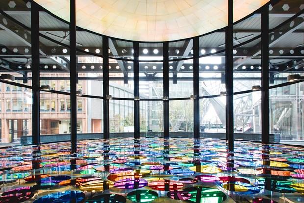 Our Colour Reflection Exhibition at London's Broadgate