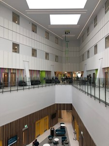 Liz West commissioned for new Clatterbridge Cancer Centre, Liverpool, by Liz West
