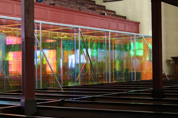 Presence - Credit: Presence by Liz West at Christ Church, Macclesfield.