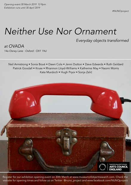 Neither Use Nor Ornament, by Ruth Geldard