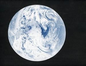 Pale Blue Dot, by Melanie King