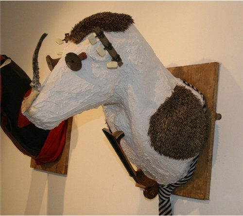 Hedgehog Head - from 12 heads series
