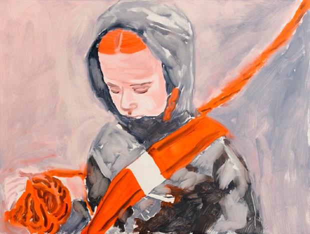 B. Howey, Orange Sash ,