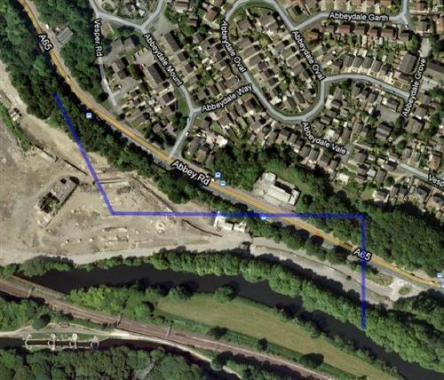 Kirstall storm drain