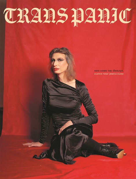 Cekca Het: Trans Panic magazine cover