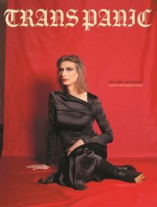 Cekca Het: Trans Panic magazine cover, by Rhiannon Lowe