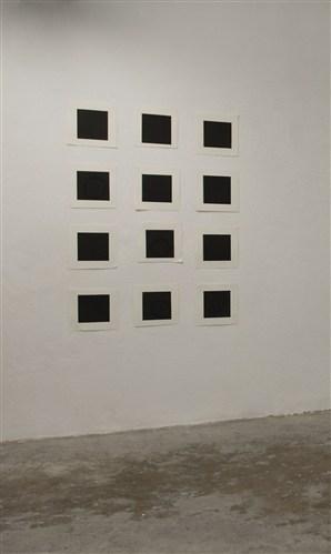 Twelve Black Squares