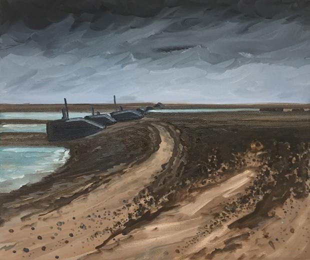 Horsey Island, Third Study