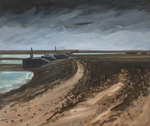 Horsey Island, Third Study, by Stephen Harwood