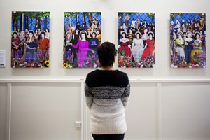 Magna Carta Women art project, by Tracy Satchwill