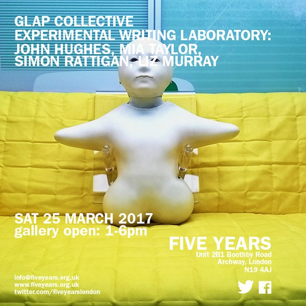 Glap Collective Experimental Writing Laboratory