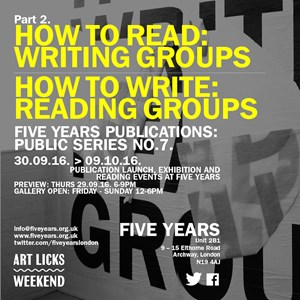 How To Read: Writing Groups, by  John  Hughes