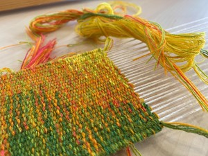 Zoom Tapestry Weaving Workshops, by Caron Penney