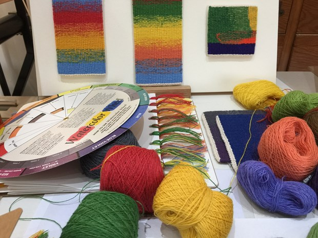 Colour & Overlay Effects in Tapestry Weaving