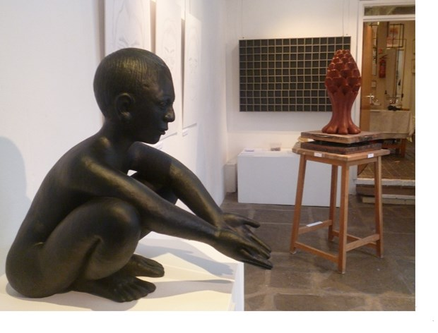 Turning Point exhibition, Courtyard Arts, Hertford 2013