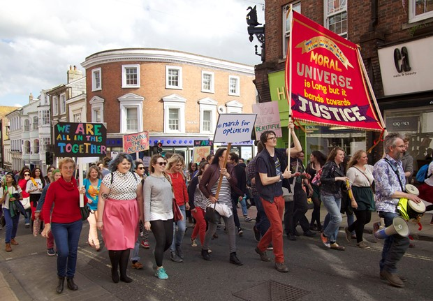 March for Optimism (Winchester)