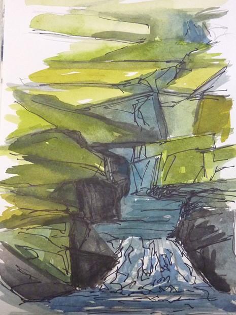 Waterfall (Seydisfjordur)