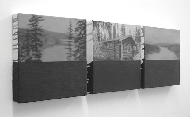 Lake Laberge (Yukon Paintings)