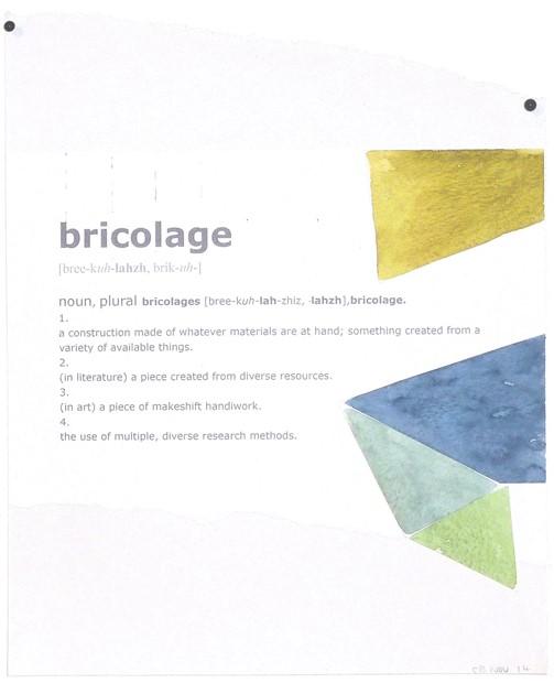 Bricolage 1 (Shetland Sketchbook)