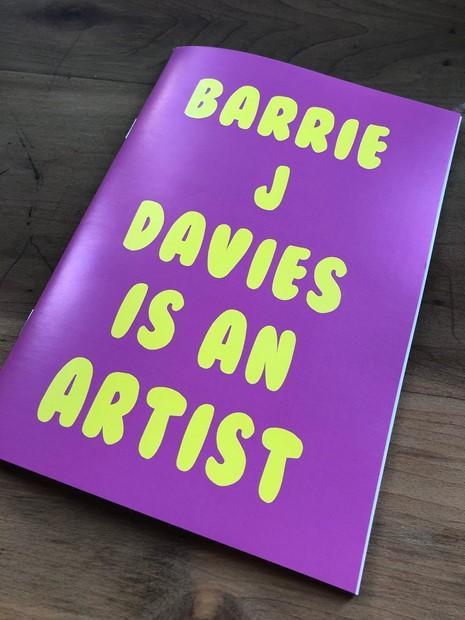 Barrie J Davies is an Artist Book, by Barrie J Davies