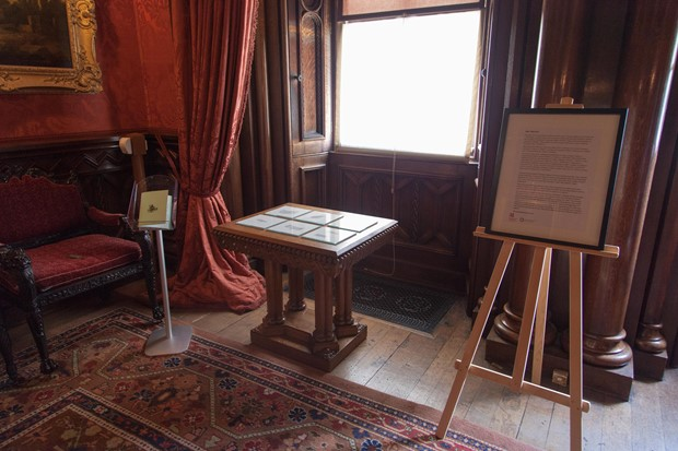 Regarding Wrecks - Credit: Installation View within the National Trust's Penrhyn Castle.