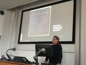 THE UNIVERSITY OF LEEDS - ARTIST'S LECTURE, by David Ainley
