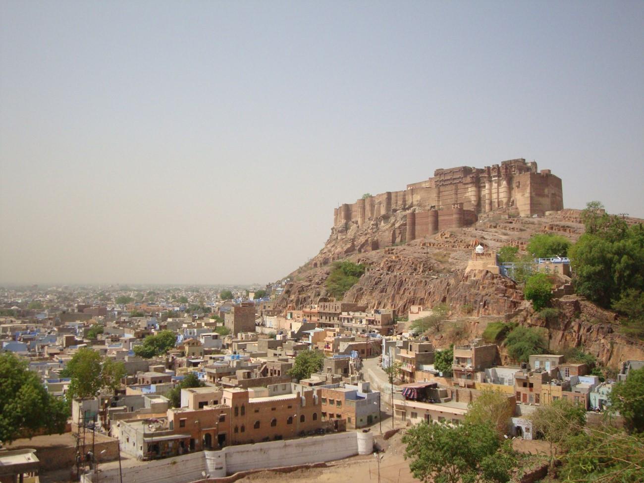 Residency at Mehrangarh Fort, Jodhpur, India, Robert Foster