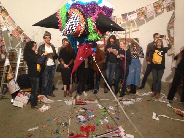 East Street Arts Piñata