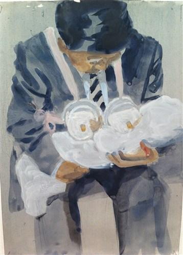 Lexi Strauss, The Twelve Apostles as Babies, 2013