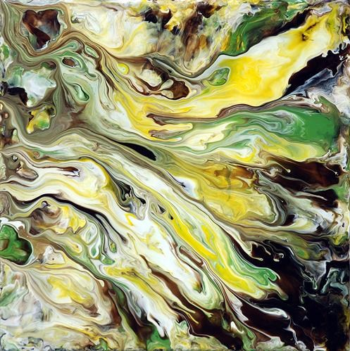 Abstract Fluid Painting 52