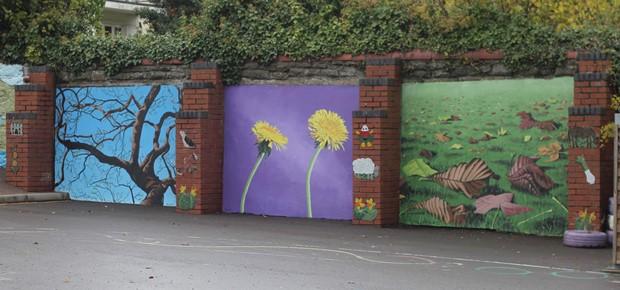 Ysgol Pencae Mural