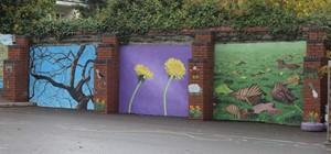 Ysgol Pencae Mural, by Phil Lambert