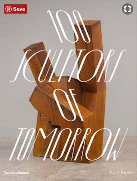 100 Sculptors of tomorrow // Thames and Hudson Book, by Linda Persson