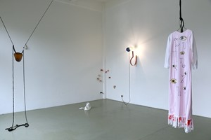 Between Old Bones and New Moons (solo exhibition), by L C Persson