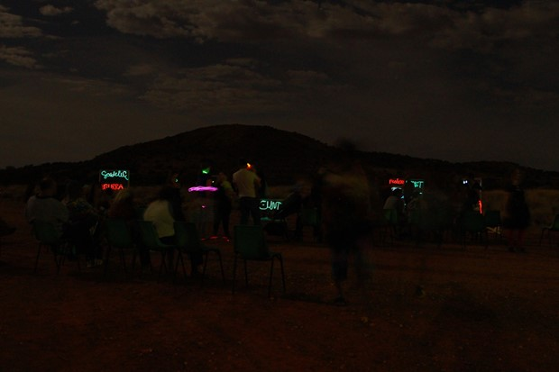 Language through light in Western Desert Australia - Credit: Roderick Sprigg