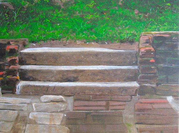 Untitled Steps Painting