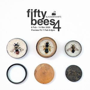 FiftyBees4, by Anne Guest