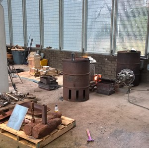 Iron: Origins and Destinations - Iron casting workshop, by Ewan Robertson