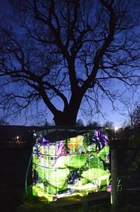 Materials from the Garden / Deunyddiau o'r Ardd, by Penny Hallas