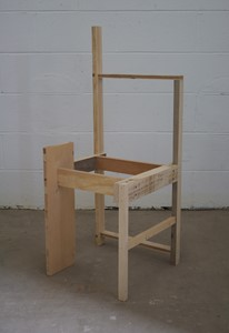 Suprematist Chair, by Colin Lindsay