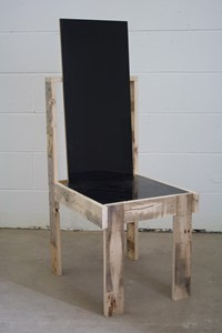 No Title (Marcel Chair Black), by Colin Lindsay