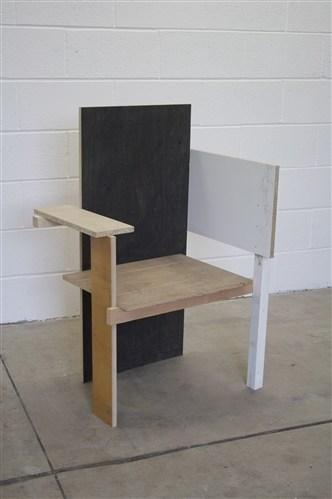 Berlin Chair (Glasgow Detritus)