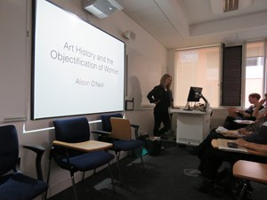 Objectification and Gendered Violence Symposium, by Alison O'Neill