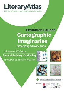 Cartographic Imaginaries exhibition, by Valerie Coffin Price