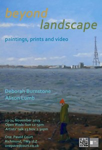 'Beyond Landscape' show and artists' talk, by Deborah Burnstone