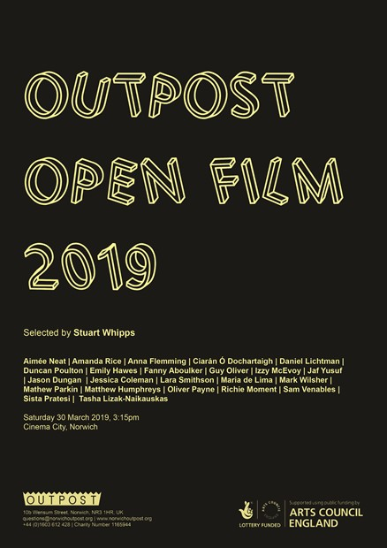 Outpost Open Film 2019, by Anna Flemming