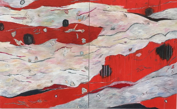 Crossing Rivers (Diptych)