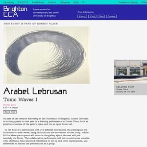 Toxic Waves I Digital Performance, by Arabel Lebrusan